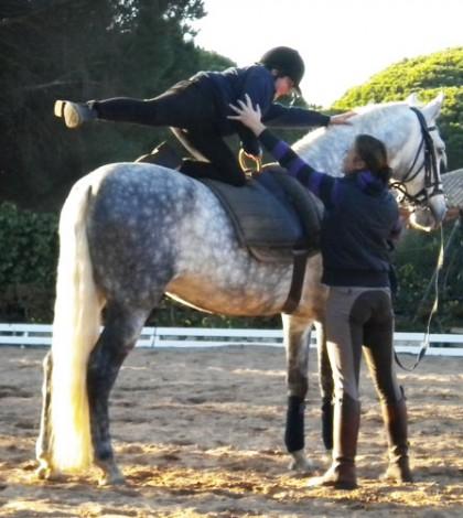 Reglas de seguridad para niños con caballos